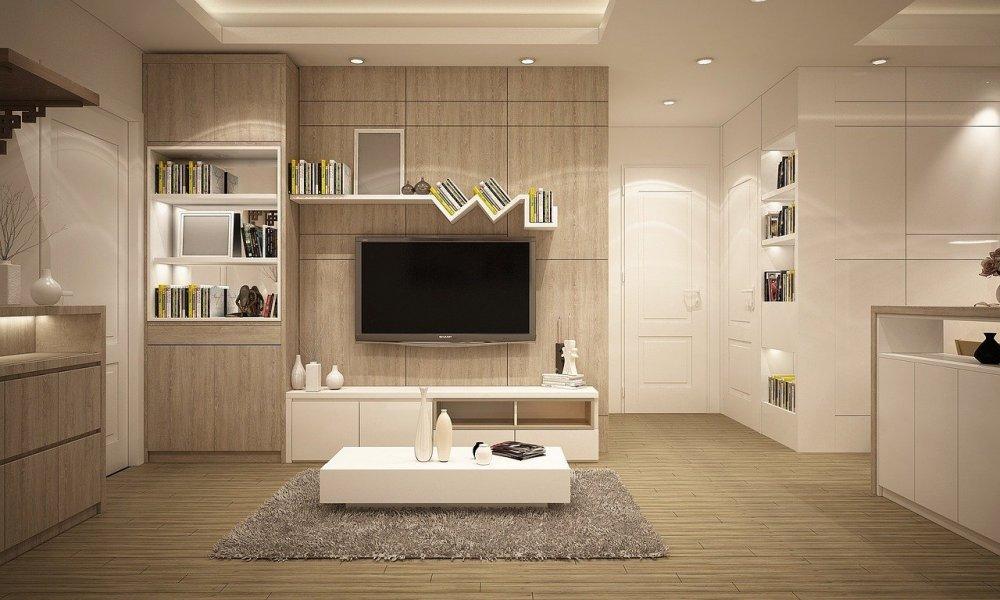 Gemütliches Wohnambiente mit modernen Teppichen